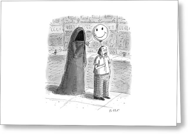 New Yorker September 26th, 2016 Greeting Card