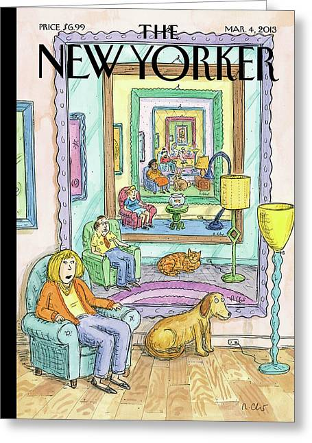New Yorker March 4th, 2013 Greeting Card