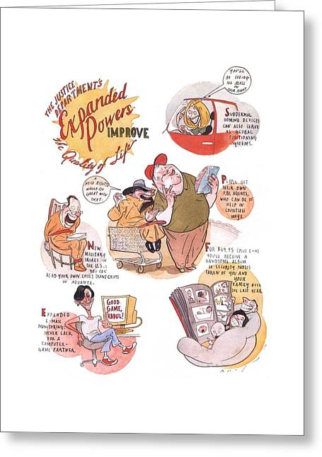 New Yorker January 7th, 2002 Greeting Card