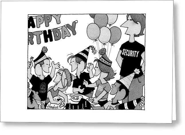 New Yorker November 28th, 2005 Greeting Card