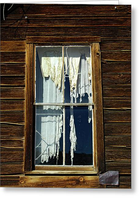 Usa, California, Bodie State Historic Greeting Card by Jaynes Gallery