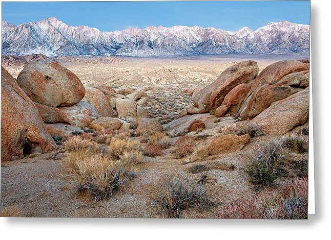 Usa, California, Lone Pine Greeting Card by Jaynes Gallery