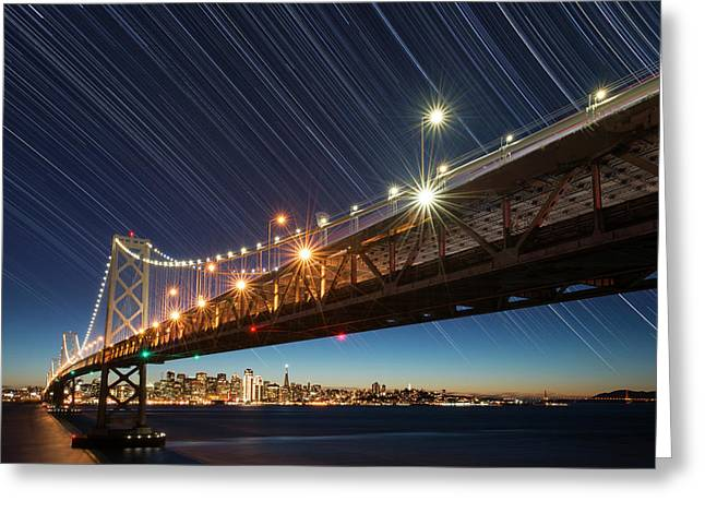 Usa, California, San Francisco Greeting Card