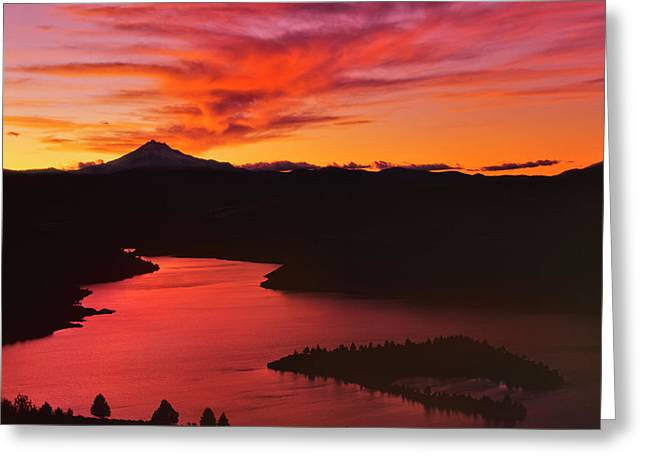 Usa, Oregon, Jefferson County Greeting Card by Jaynes Gallery