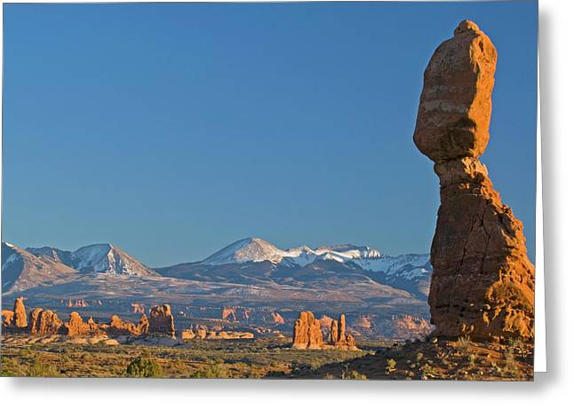 Usa, Utah, Arches National Park Greeting Card by Jaynes Gallery