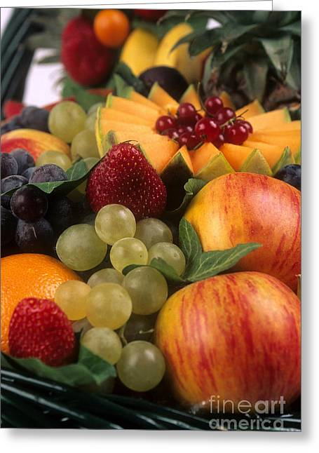 Variety Of Fruits. Greeting Card