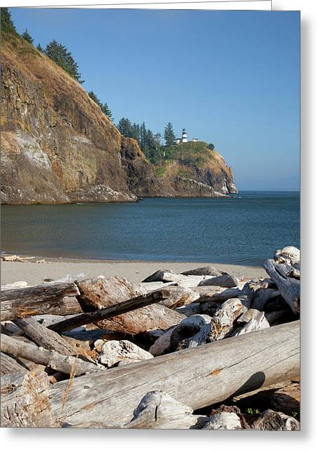 Wa, Cape Disappointment State Park Greeting Card
