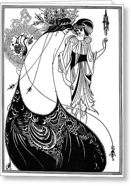 Wilde Salome Greeting Card