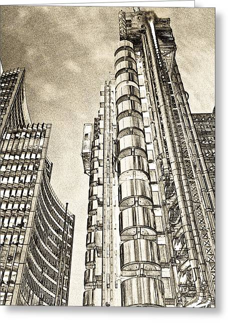 Willis Group And Lloyd's Of London Art Greeting Card