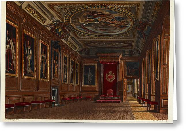 Windsor Castle Greeting Card by British Library