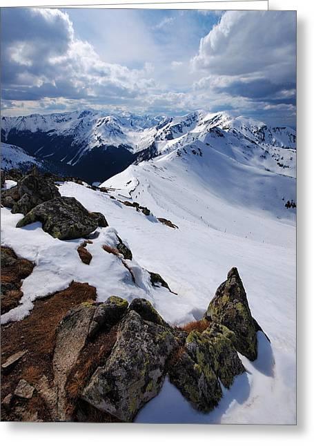 Winter In Tatra Mountains Greeting Card by Karol Kozlowski