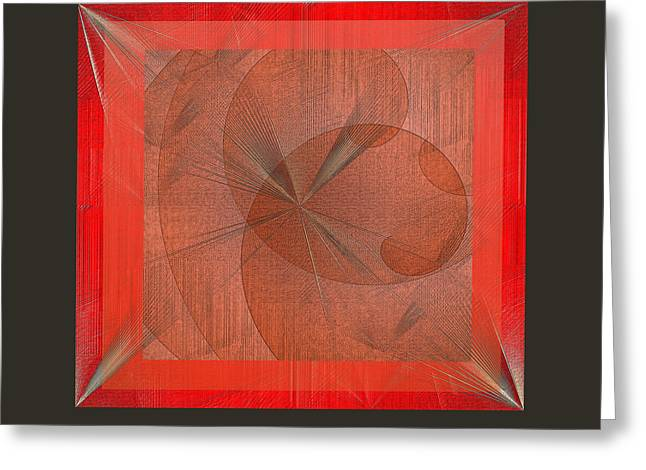 Greeting Card featuring the digital art Wonder by Iris Gelbart