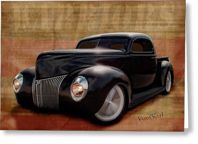40 Ford Pickup Warriors Greeting Card