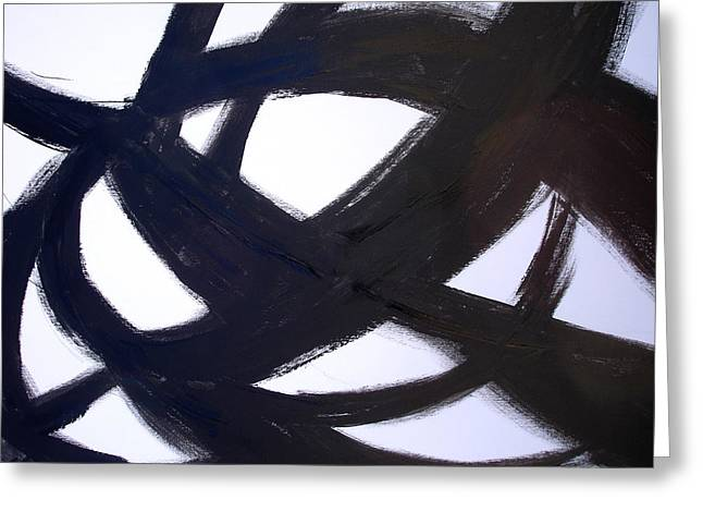 40x60 Abstract Art Painting Modern Robert R Print Limited Edition Greeting Card