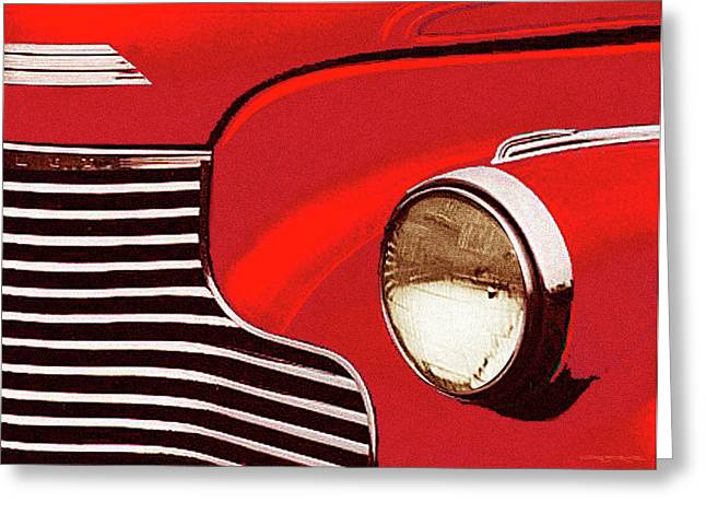 41 Chev Greeting Card by Patrick J Osborne