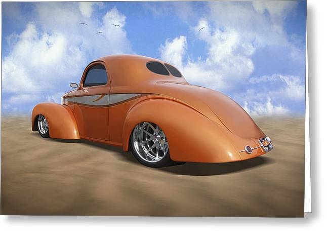 41 Willys Greeting Card