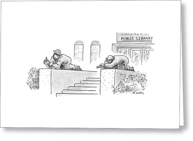 New Yorker February 13th, 2006 Greeting Card by Mike Twohy