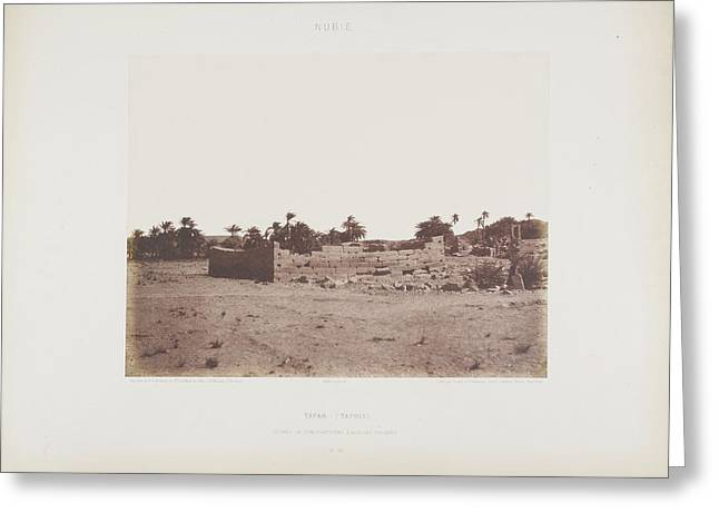 Photograph Of The Egyptian Landscape Greeting Card by British Library