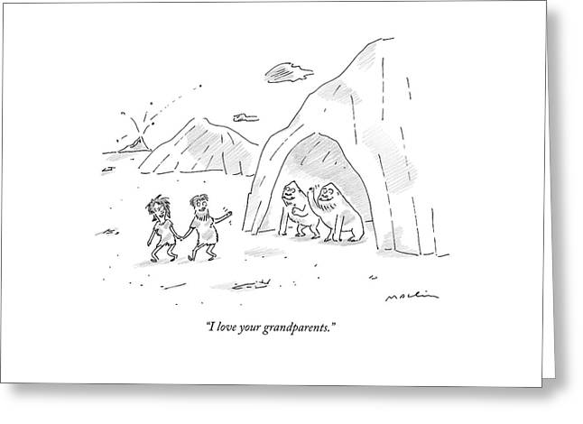 I Love Your Grandparents Greeting Card