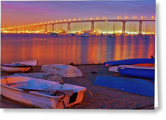 Usa, California, San Diego Greeting Card by Jaynes Gallery