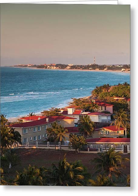 Cuba, Matanzas Province, Varadero Greeting Card