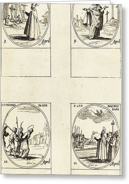 Jacques Callot French, 1592 - 1635 Greeting Card