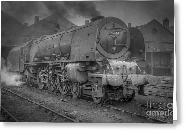46244 King George Vi At Carlisle Greeting Card