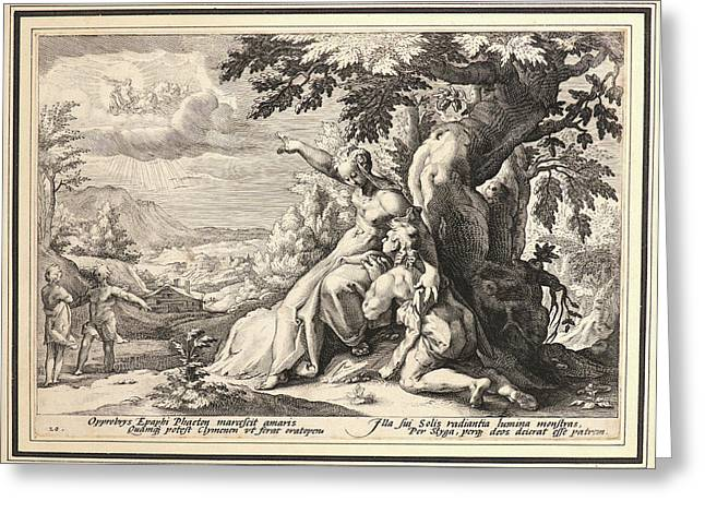 Anonymous After Hendrick Goltzius Dutch Greeting Card by Litz Collection