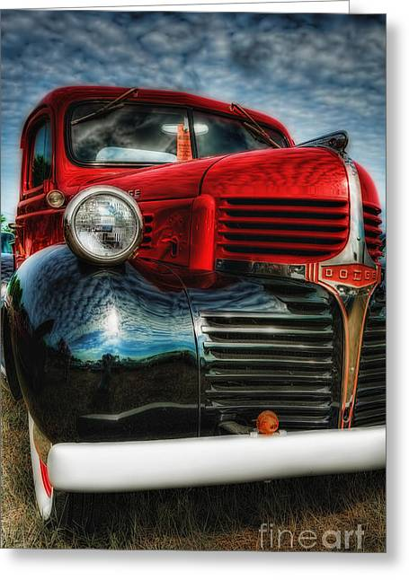 47 Dodge Pickup Greeting Card by Trey Foerster