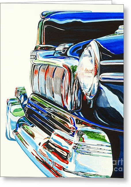 47 Mercury Greeting Card by Rick Mock