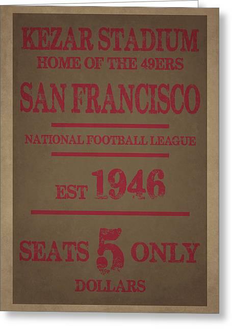 San Francisco 49ers Greeting Card