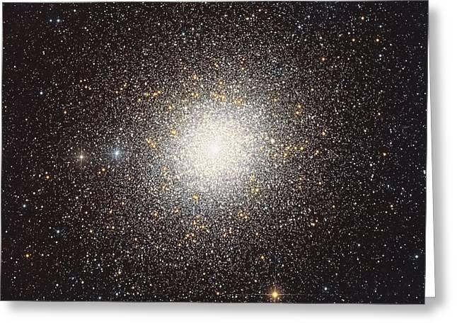 47 Tucanae, A Globular Cluster Located Greeting Card