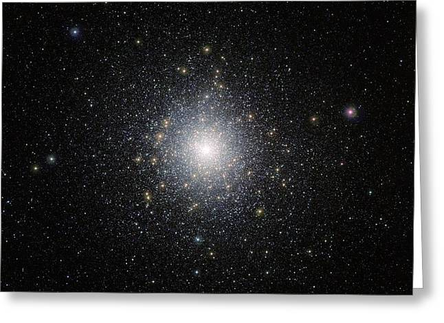 47 Tucanae Star Cluster Greeting Card by Eso/m.-r. Cioni/vista Magellanic Cloud Survey