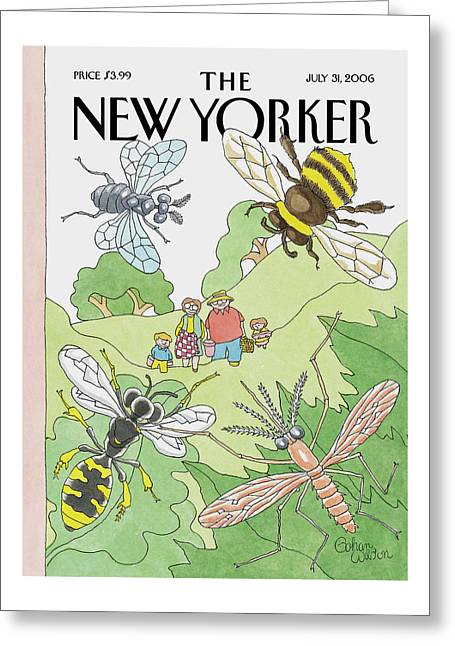 New Yorker July 31st, 2006 Greeting Card