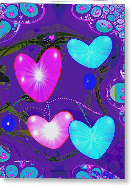 472 -  Valentine Hearts  ... Greeting Card