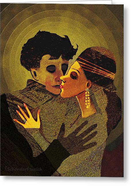 475 -  In   Dreams ... Greeting Card by Irmgard Schoendorf Welch