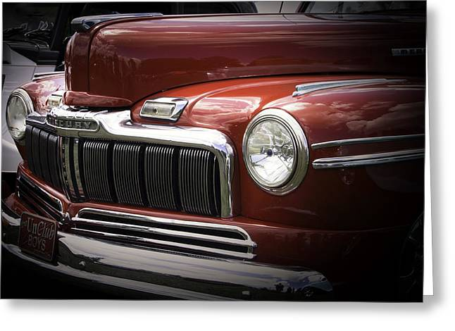 48 Merc Greeting Card by Ron Roberts