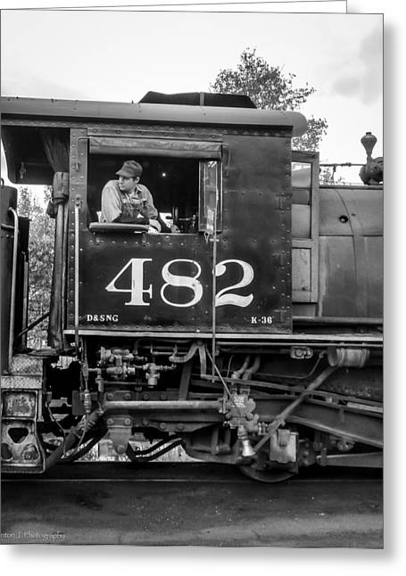 Greeting Card featuring the photograph 482 by Ross Henton