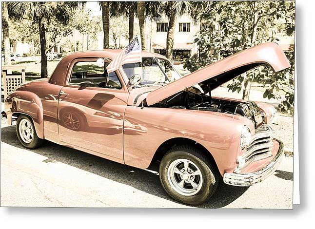 49 Plymouth Coupe Greeting Card by Chris Smith