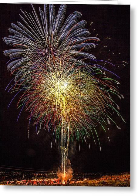 4th July #15 Greeting Card by Diana Powell