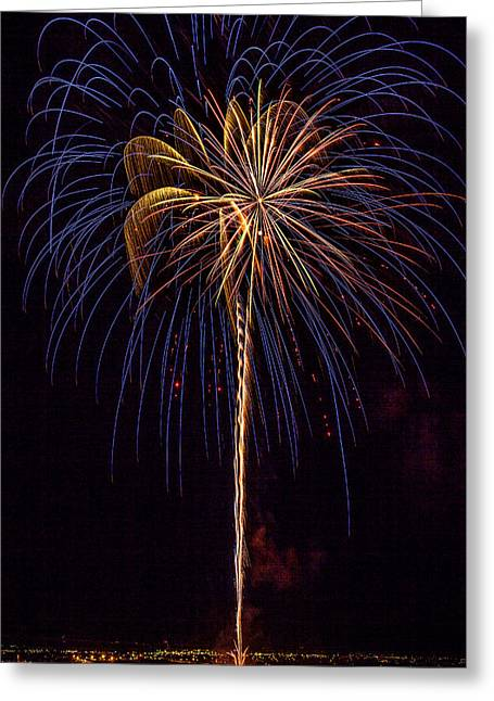 4th July #16 Greeting Card by Diana Powell