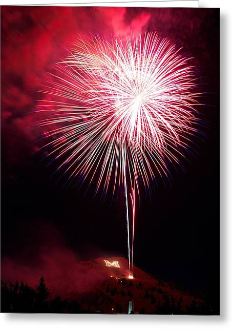 Greeting Card featuring the photograph 4th July Butte Mt 2013 by Kevin Bone