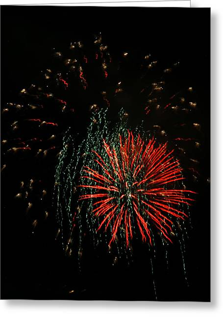 4th Of July 5 Greeting Card by Marilyn Hunt