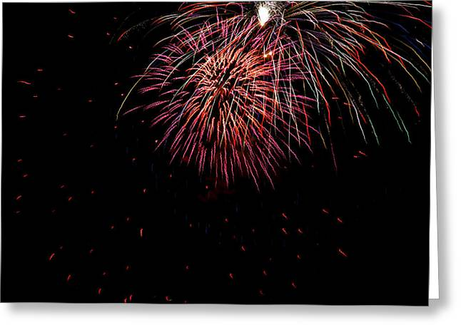 4th Of July 9 Greeting Card by Marilyn Hunt
