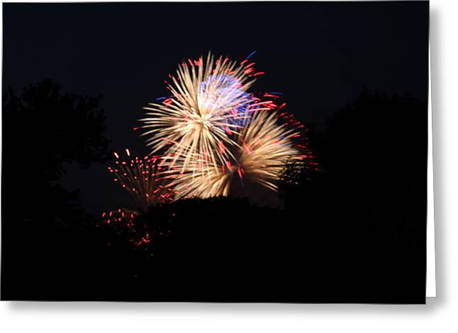4th Of July Fireworks - 011320 Greeting Card by DC Photographer
