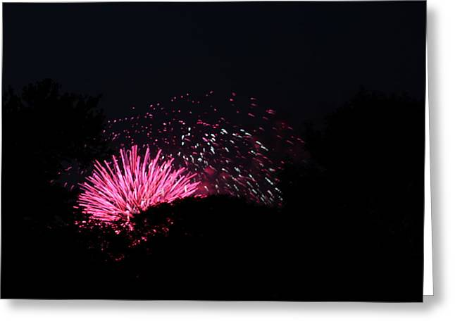 4th Of July Fireworks - 011328 Greeting Card by DC Photographer