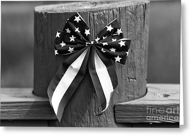 4th Of July Mono Greeting Card