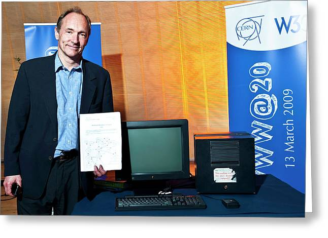 20 Years Of The World Wide Web Greeting Card
