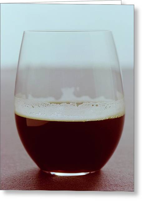 A Glass Of Beer Greeting Card