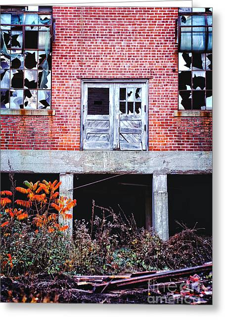 Abandoned Factory Greeting Card by HD Connelly